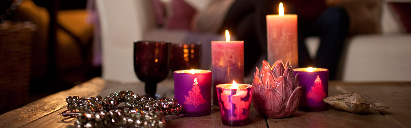 Tips for stylishly decorating your Christmas table with candles