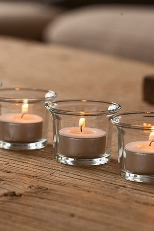 Unscented-tealights